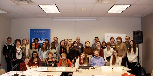 Fulbright scholars gather to discuss sustainability and human rights. Read more >>